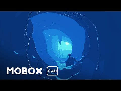 Cell Shaded Cave Scene - Cinema 4D Tutorial - YouTube