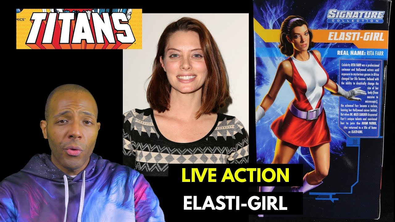 Dc S Titans Tv Show Casts Rita Farr Aka Elasti Girl Of Doom Patrol