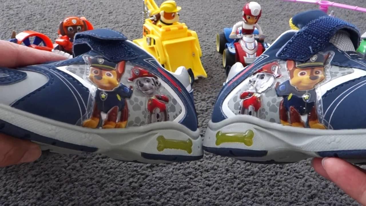 Paw patrol meets Paw patrol boys shoes