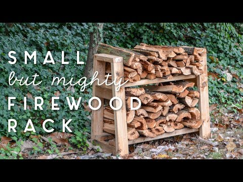 DIY Firewood Rack | how to