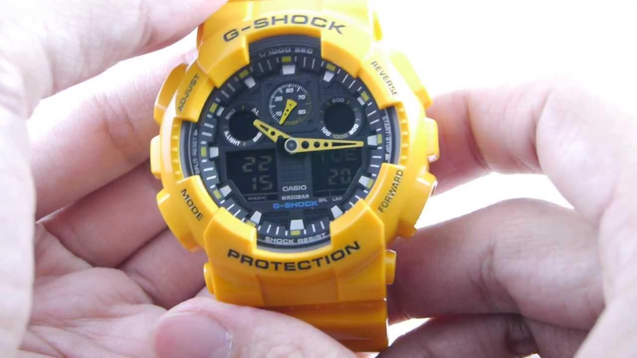 Review G-SHOCK GA-100A-9 by www.siam-naliga.com