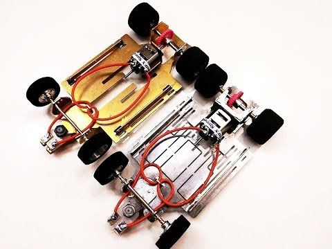 Building a 1/24 Scale Slot Car Eliminator Chassis Part 2