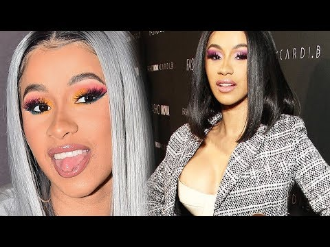 Cardi B take shots - at everyone that says HIP HOP is about writing your own raps