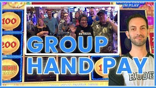 🎰$6,500 IN HIGH LIMIT 💰Group SLOT PULL💲 Slot Machine Pokies w Brian Christopher #ad