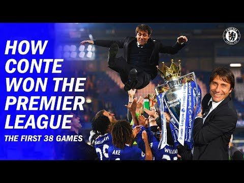 How Antonio Conte Won The Premier League In His First Season