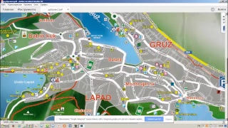видео Карта Хорватии