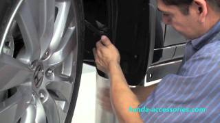 Accord Splash Guards Installation (Honda Answers #13)