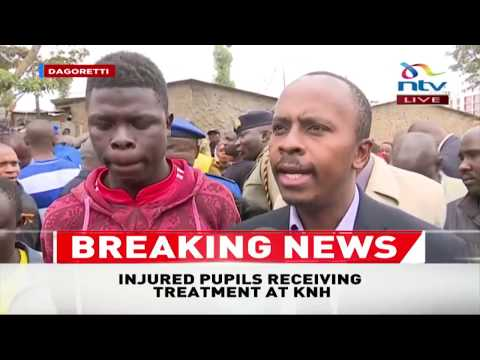 MP John Kiarie speaks on Precious Talent School tragedy