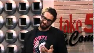 Seth Rollins Visit WZZM 13 Take 5