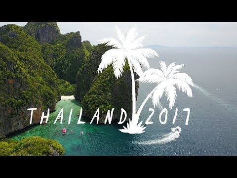 Thailand Vlog 4K! // Bangkok to Full-Moon Party 2017 (And In Between)
