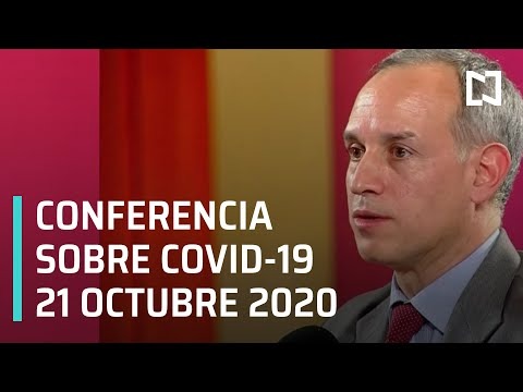 Conferencia Covid-19 en México - 21 octubre 2020