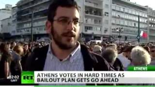 Greece welcomes bailout bill with unrest and riots (May 2010) (NWO SOCIETY SERIES/ Civil Unrest)