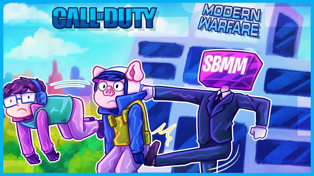 Modern Warfare but skill based matchmaking ruins everything...
