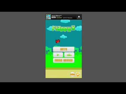 Flappy X (Best Flappy Bird Game Ever / Crappy Bird / 2048 Mobile App / Clone) Cheats Strategy