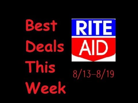 Rite Aid Deals 8/13 to 8/19