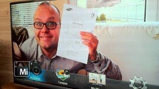 Samsung SMART TV. Общительный телевизор(mobileimho.ru знакомится с новым телевизором Samsung UE40ES7000 Smart TV. Теперь для просмотра ТВ с ним нужно разговаривать..., 2012-05-05T09:16:21.000Z)