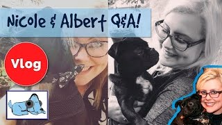 Relax My Dog Q&A with Nicole and Albert! Learn More about Nicole and Albert!