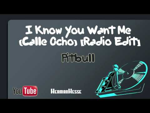 I know you want me calle ocho radio edit