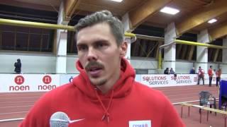 Adam Sebastian Helcelet po prvním dni vícebojařského mezistátního utkání