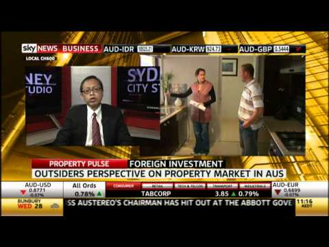 Sky News Business: Aquaint's COO, Daniel Tan talks about perspective on property market in Australia