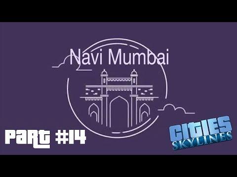 [Timelapse]Let's play Cities Skylines: Part 14|| Building Navi Mumbai || First Bus line