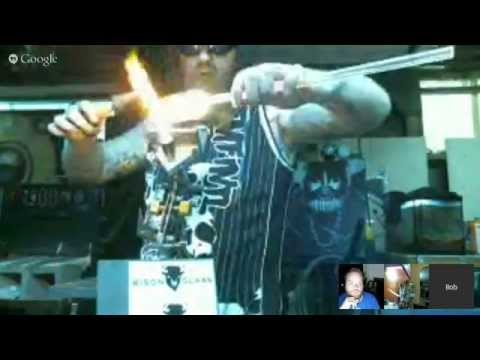 Torch Talk 46 - DHG/BisonGlass Reamer Demo - Adding Compressed Air To Your Torch