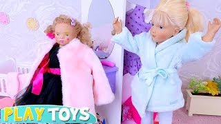 Petitcollin Baby Doll Play Dress up w/ Mommy
