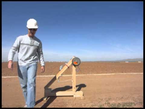 how to build a tennis ball trebuchet