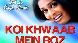 Koi Khwab Mein Roz - Dil Le Gaya Ajnabi | Alka Yagnik | Sameer Phaterpekar