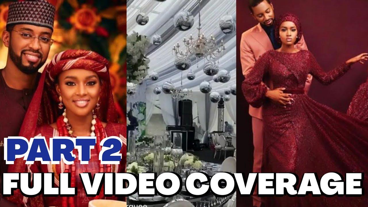 Download Exclusive Video2: President Buhari's Daughter Grand Wedding Ceremony...Bigger Than Dangote's Wedding