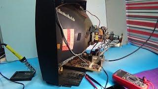 Ремонт телевизора  PHILIPS(как отремонтировать кинескопный телевизор (не включается ), 2015-06-23T21:23:02.000Z)