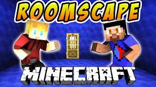Minecraft Puzzle Map - ROOMSCAPE: ESCAPE THE ROOMS! with Vikkstar & Lachlan