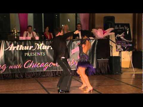 Val Warner Dancing With Chicago Celebrities Youtube