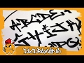 Graffiti Tag Alphabet - Handstyle Tagging #5