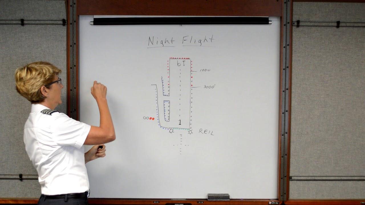 Night Airport Lighting (Private Pilot Lesson 15c)