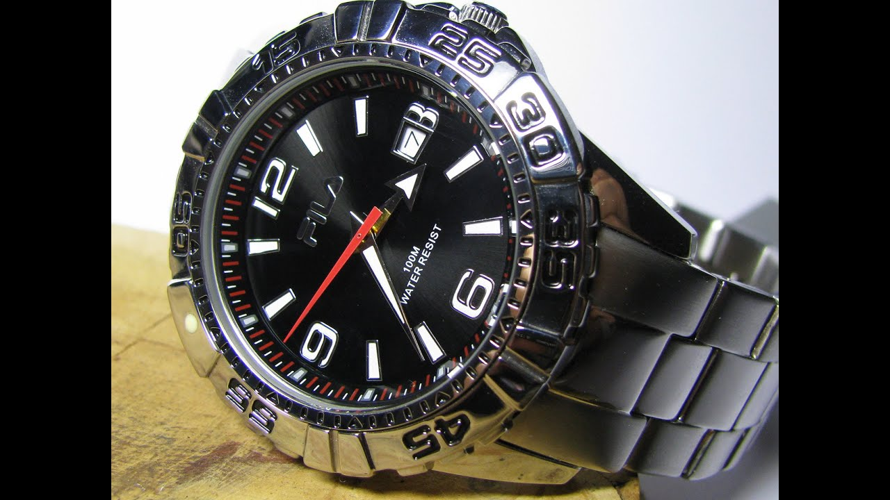Fila polaris watch youtube for Fila watches