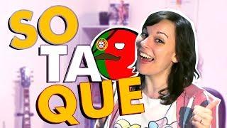FALANDO COM SOTAQUE PORTUGUÊS e XENOFOBIA em PORTUGAL