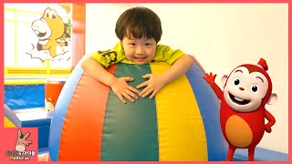 키즈 카페 코코몽 로봇 찾기 어린이 장난감 놀이 ♡ 편백나무 공놀이 테마 파크 죽전점 #4 Indoor Playground Fun Play | 말이야와아이들 MariAndKids