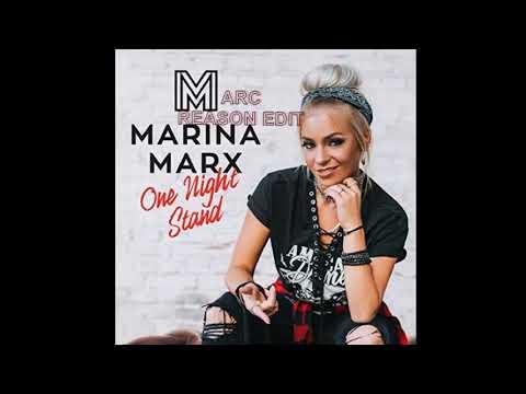 Marina Marx - One Night Stand (Marc Reason Edit) - YouTube
