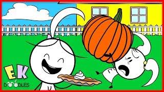 Twin Pie Baking Challenge with Emma & Kate ! Pumpkin Pie vs. Pecan Pie