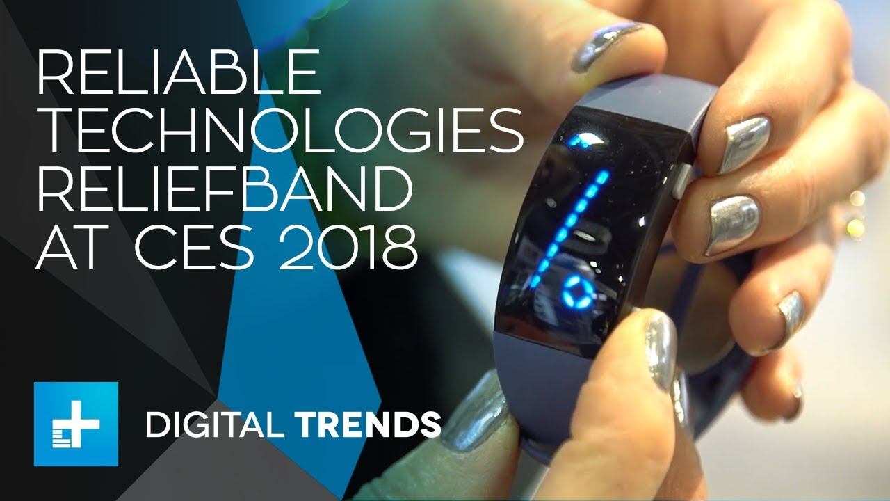 Nausea Relief Technology? First look at the Reliable Technologies Reliefband at CES 2018