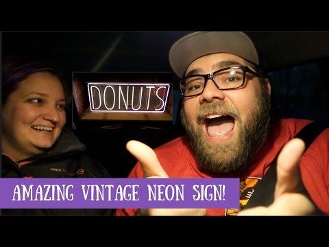 Amazing Vintage Neon Sign!