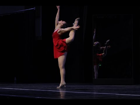 Music and the Mirror - A CHORUS LINE - Cassie played by Alley Kerr