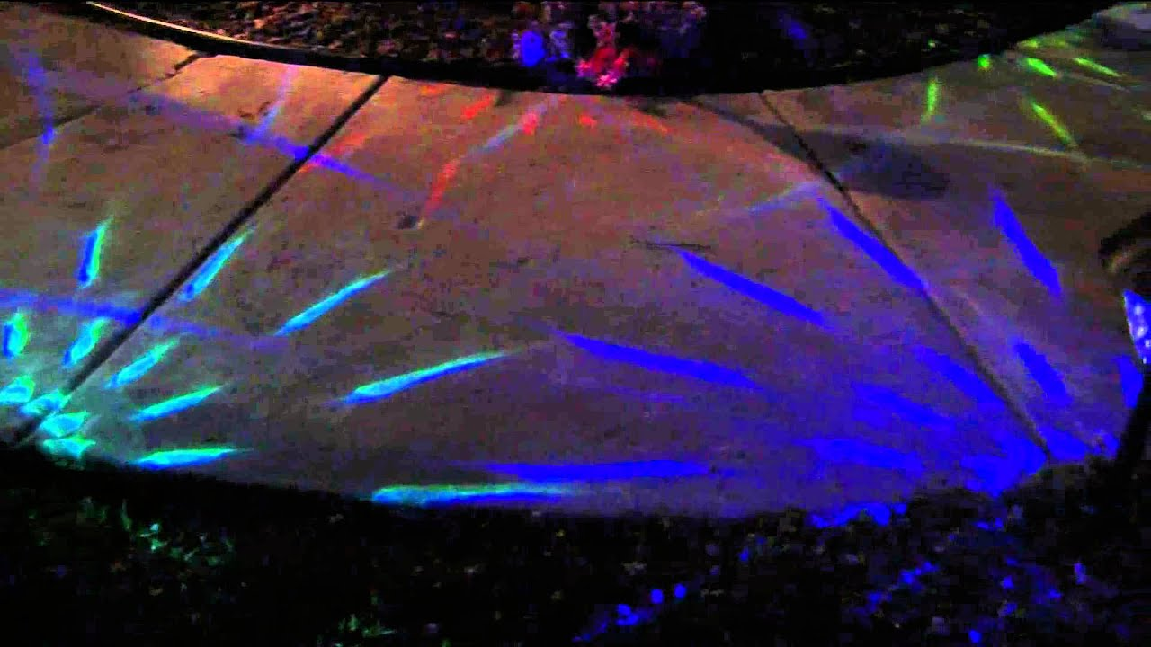 Paradise 10 Piece Color Changing Solar Light Set With Dan Hughes Youtube