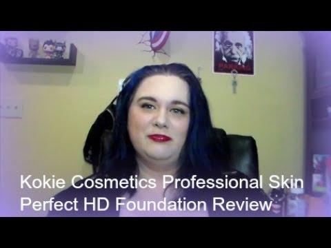 Kokie Cosmetics Professional Skin Perfect HD Foundation Review