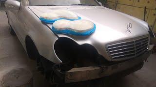 Полное Восстановление Фар на Mercedes W203 под Лак ®️