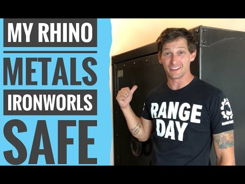 Rhino Metals Ironworks Safe Overview
