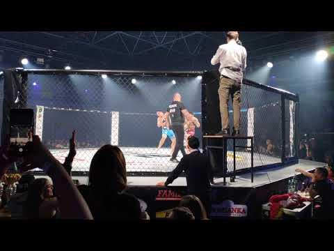 BFN2, Blood Fight Night 2, Gala MMA Wyszków, Mateusz Śniadała Vs Dawid Sadowski
