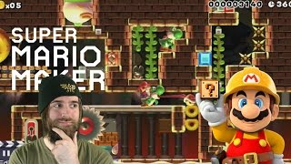 Locked in the Dragon's Dungeon   IT'S PUZZLE TIME! [Super Mario Maker]
