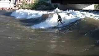Colorado River Surfer July 02, 2011